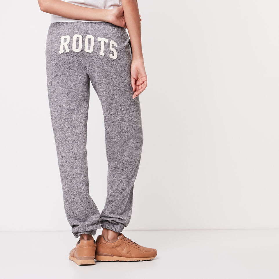Roots-undefined-Roots Salt and Pepper Boyfriend Sweatpant-undefined-A