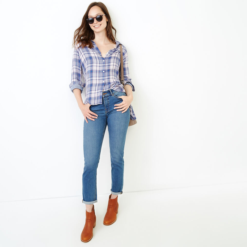 Roots-undefined-Plaid Shirt-undefined-B