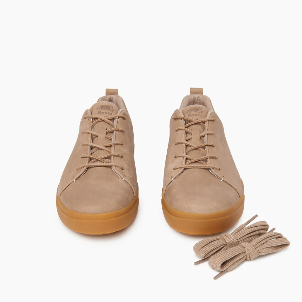 Roots-Men Footwear-Mens Parkdale Sneaker-Sand-D