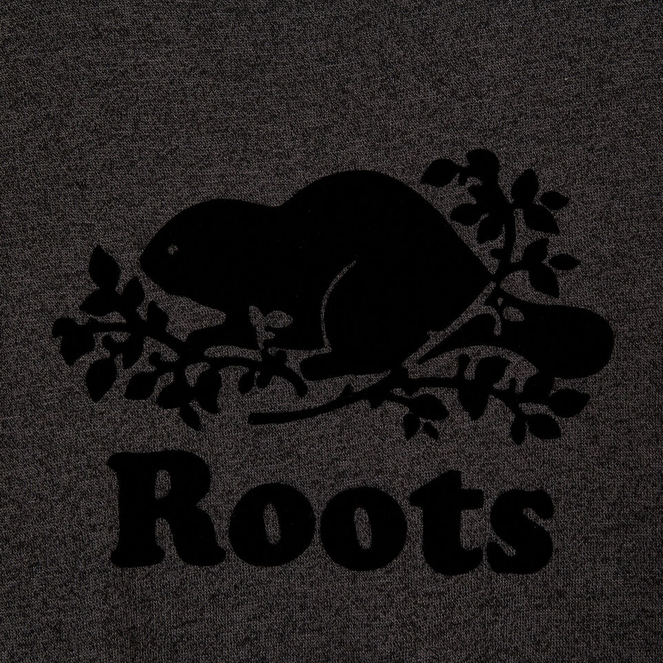 Roots-New For May Women-Womens Cooper Beaver T-shirt-Black Pepper-D