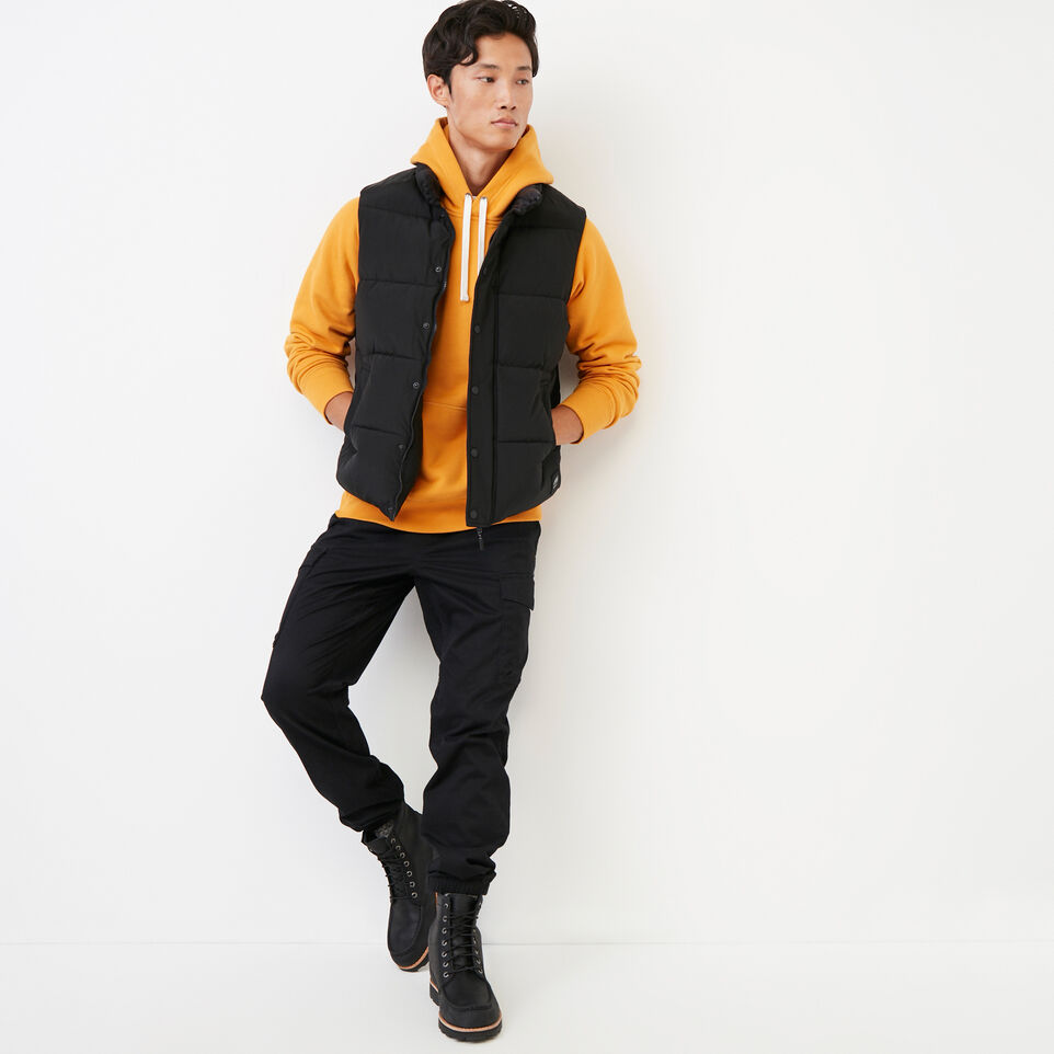 Roots-Men Our Favourite New Arrivals-Stamps Kanga Hoody-Squash Yellow-B