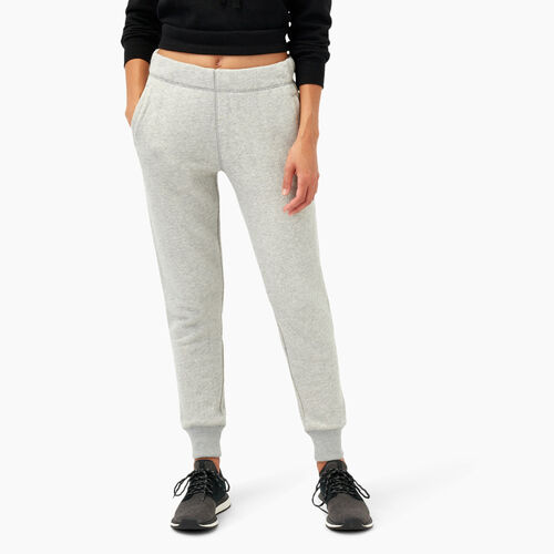 Roots-Women Bottoms-Georgina French Terry Sweatpant-Grey Mix-A