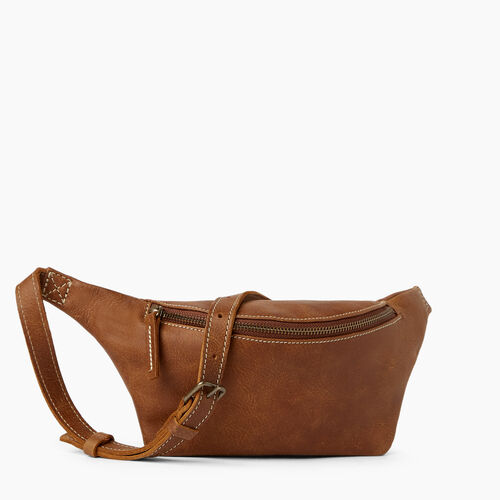 Roots-Leather  Handcrafted By Us Mini Leather Handbags-Wellesley Pack-Natural-A