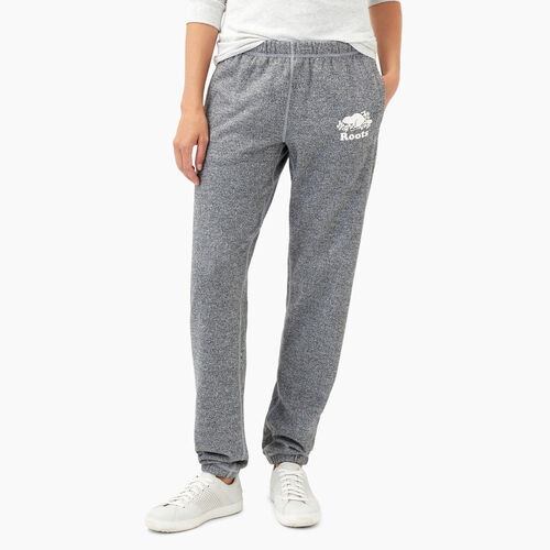 Roots-Women Bottoms-Roots Salt and Pepper Original Sweatpant Tall-Salt & Pepper-A