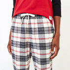 Roots-New For September Today Only: 40% Off Park Plaid Collection-Inglenook Lounge Pant-Birch White-E