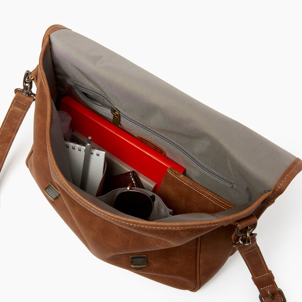 Roots-Leather  Handcrafted By Us Our Favourite New Arrivals-Small School Bag-Natural-D