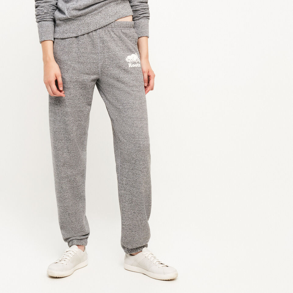 Roots-undefined-Pantalon en coton ouaté original Roots Salt and Pepper-undefined-C