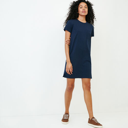 Roots-Women Dresses-Madeira Pocket Dress-Navy Blazer-A
