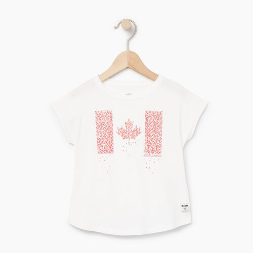 Roots-Sale Kids-Toddler Confetti Canada T-shirt-Ivory-A