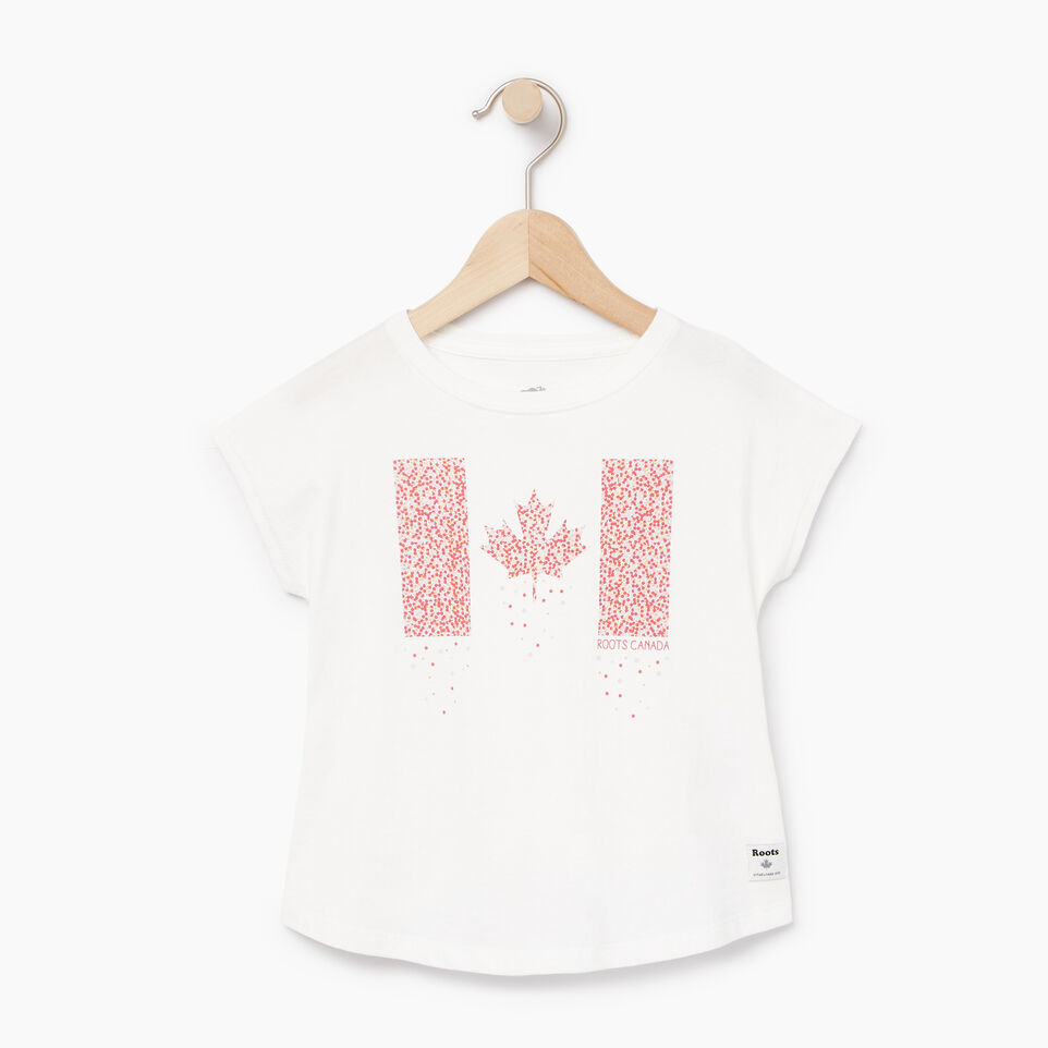 Roots-Kids Our Favourite New Arrivals-Toddler Confetti Canada T-shirt-Ivory-A