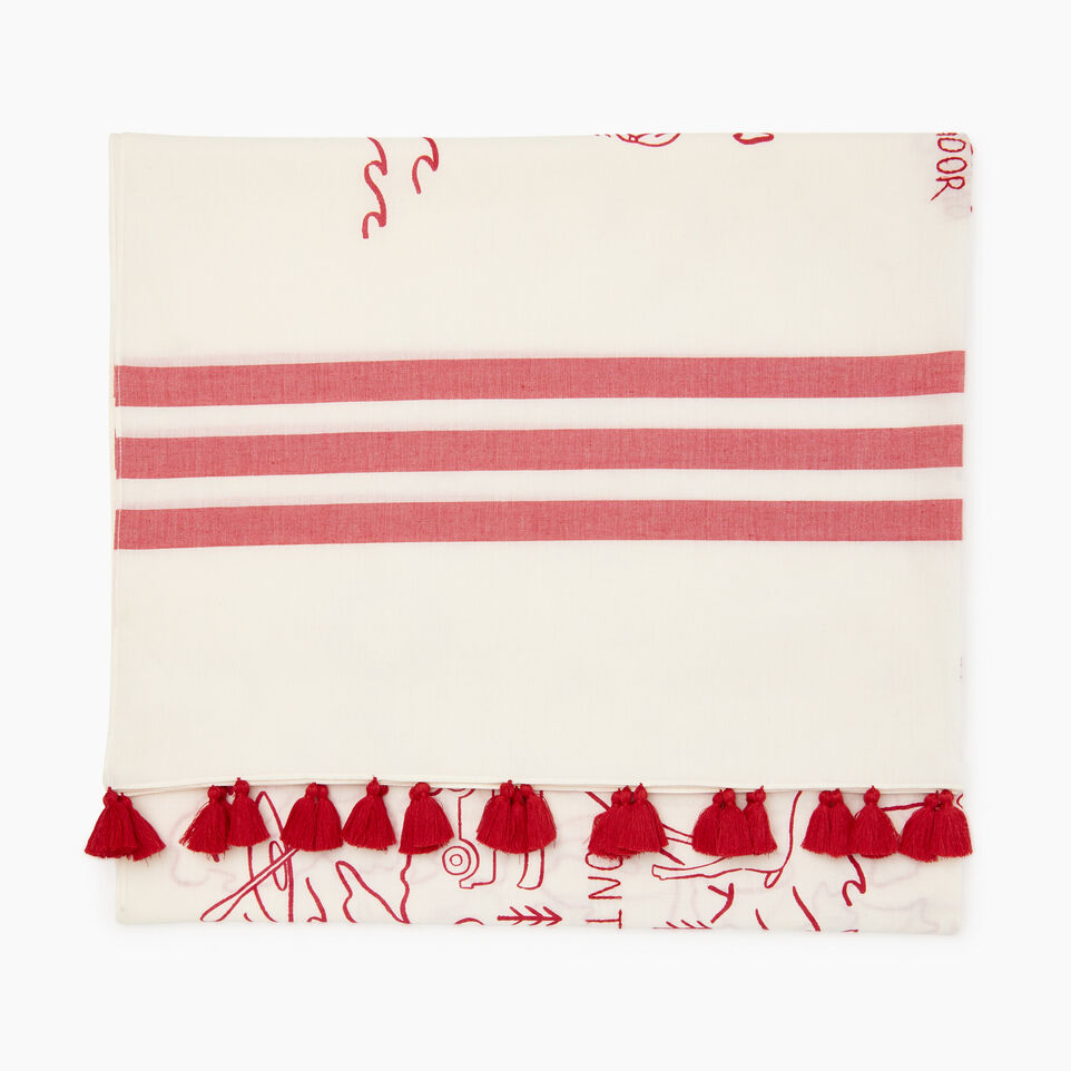 Roots-Women Clothing-Canada Sarong-Cannoli Cream-D