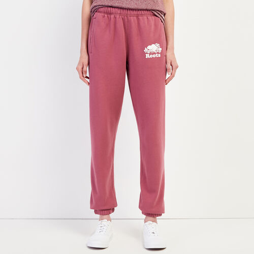 Roots-Women Sweatpants-Original Sweatpant-Hawthorn Rose-A