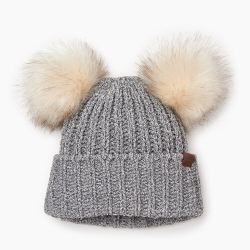 Roots-Sale Kids-Toddler Girl Chenille Toque-Salt & Pepper-A