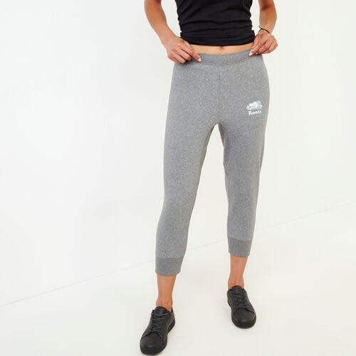 Roots-Women Our Favourite New Arrivals-Roots Breathe Capri-Medium Grey Mix-A