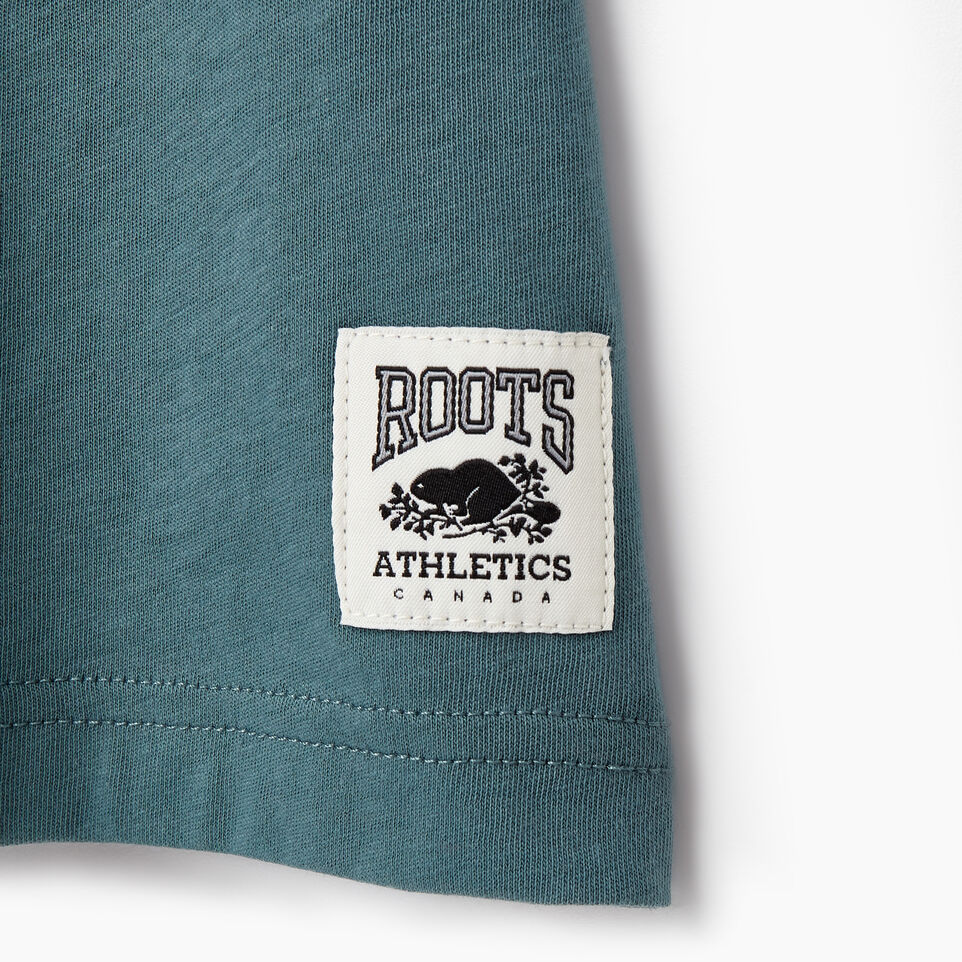 Roots-New For March Rba Collection-Mens RBA T-shirt-North Atlantic-D