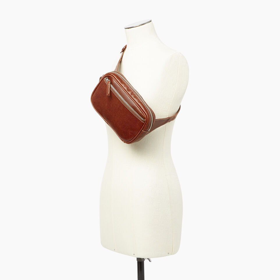 Roots-Leather Our Favourite New Arrivals-Roots Belt Bag Horween-Cognac-E