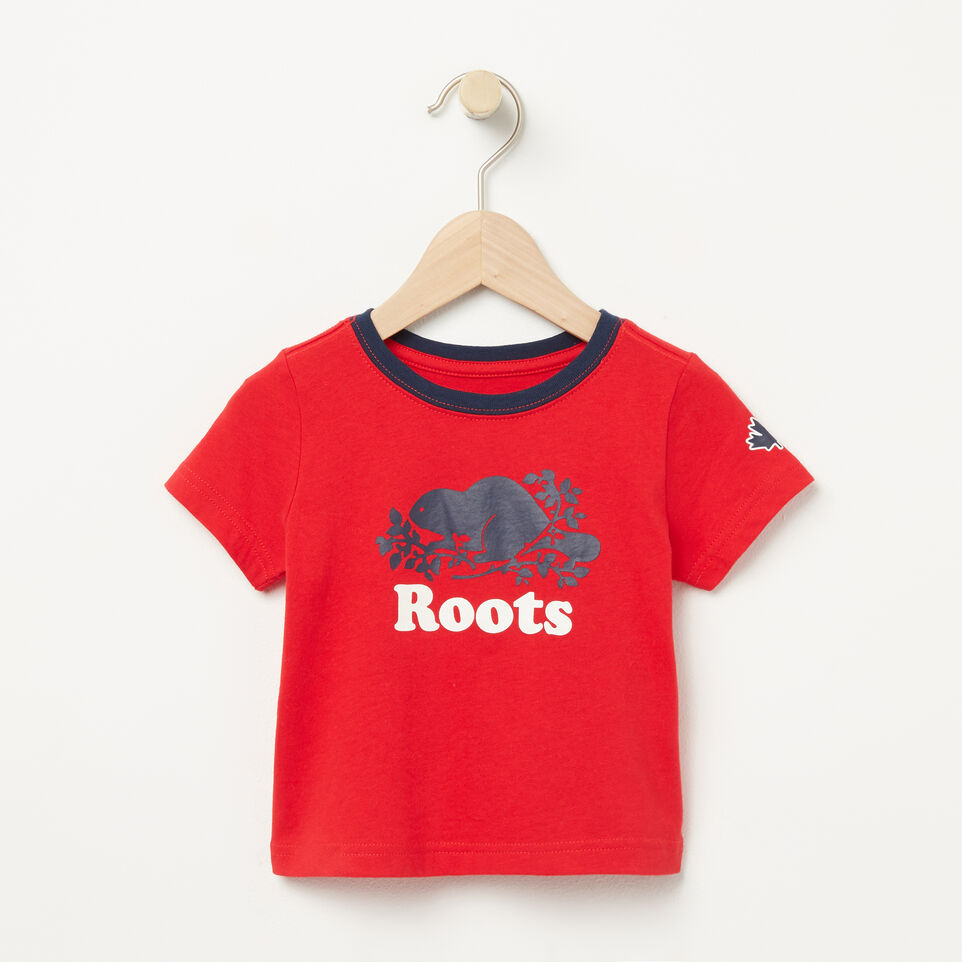 Roots-Baby Cooper Ringer T-shirt