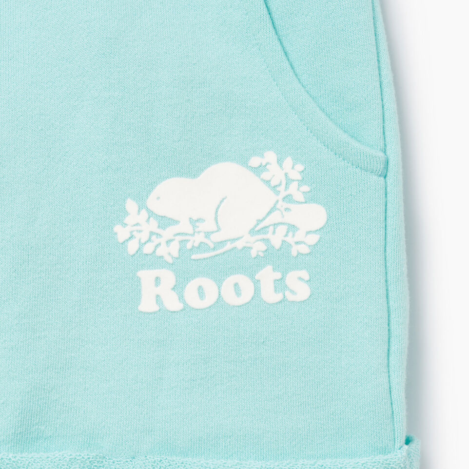 Roots-Kids Our Favourite New Arrivals-Girls Roots Beach Short-Aruba Blue-D