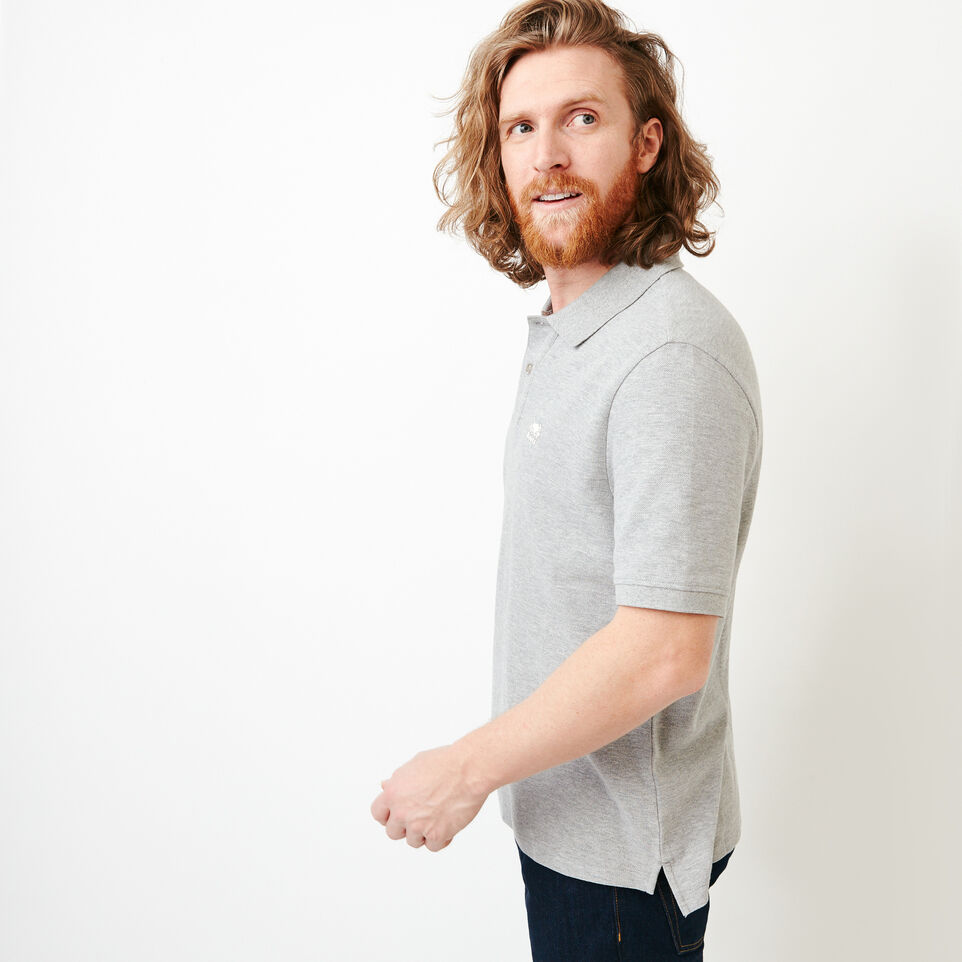 Roots-Men Shirts & Polos-Heritage Pique Polo-undefined-C