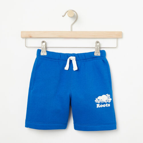 Roots-Kids Bottoms-Toddler Original Athletic Short-Olympus Blue-A