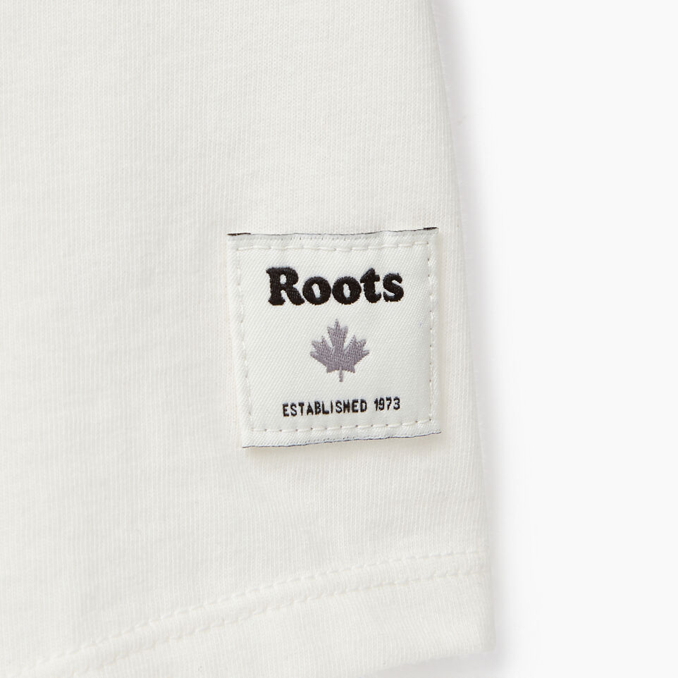 Roots-undefined-T-shirt à manches raglan Buddy pour filles-undefined-C