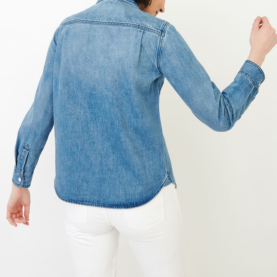 Roots-undefined-Scout Denim Shirt-undefined-D