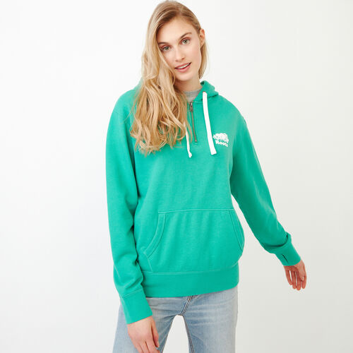 Roots-Women Categories-Olivia Hoody-Sea Green-A