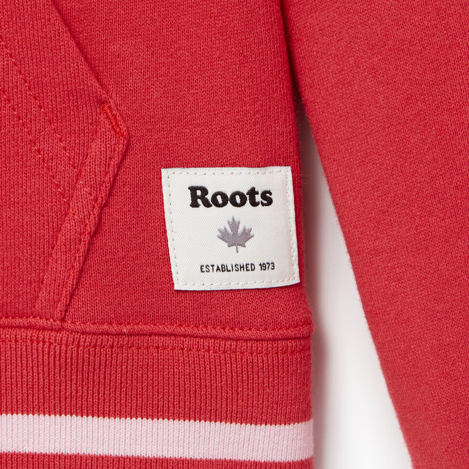 Roots-Kids Categories-Girls Alumni Full Zip Hoody-Chrysanthemum-C