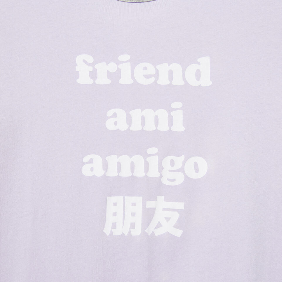 Roots-undefined-Womens Hello Friend T-shirt-undefined-D