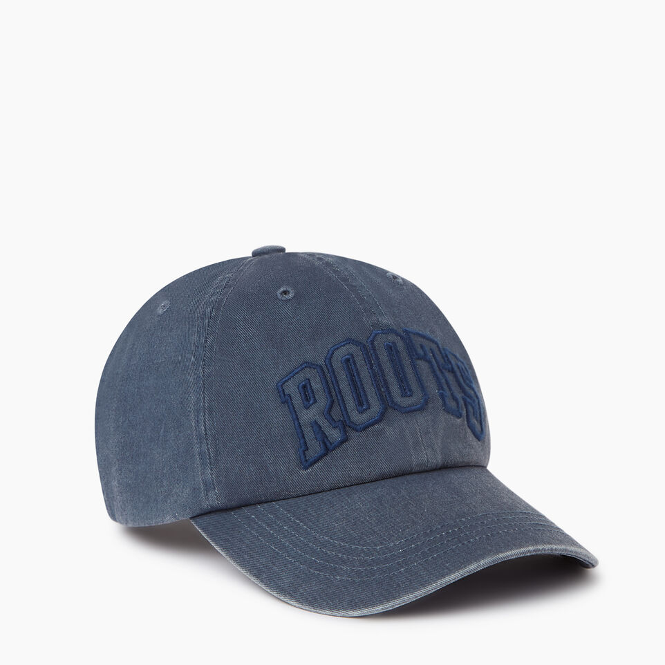 Roots-Men Our Favourite New Arrivals-Strathcona Baseball Cap-Blue-A
