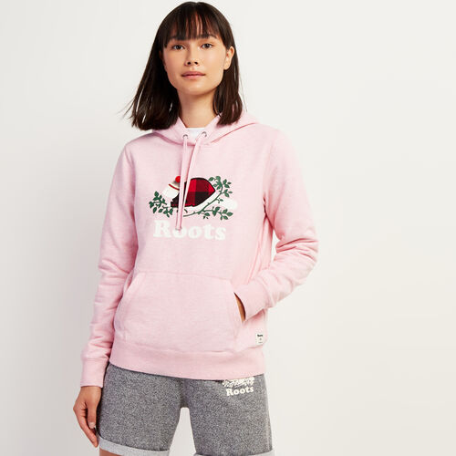 Roots-New For November Online Exclusives-Cozy Buddy Kanga Hoody-Pink Mix-A