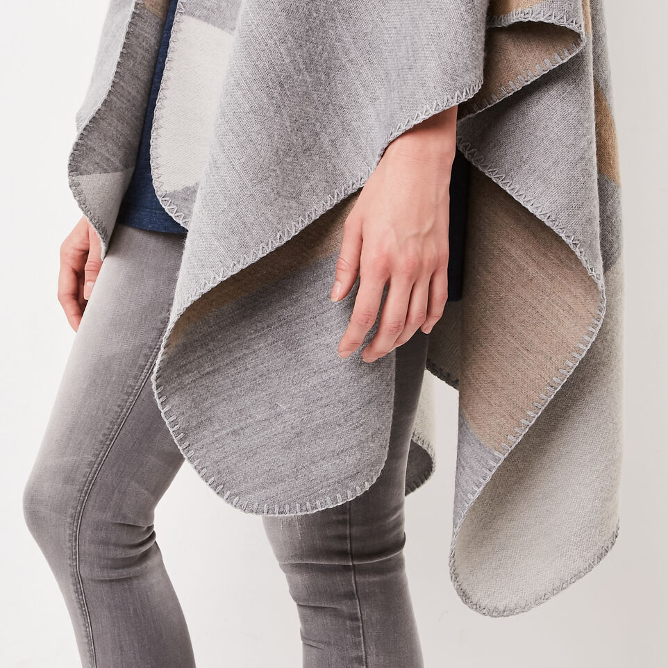 Roots-undefined-Loren Blanket Wrap-undefined-E