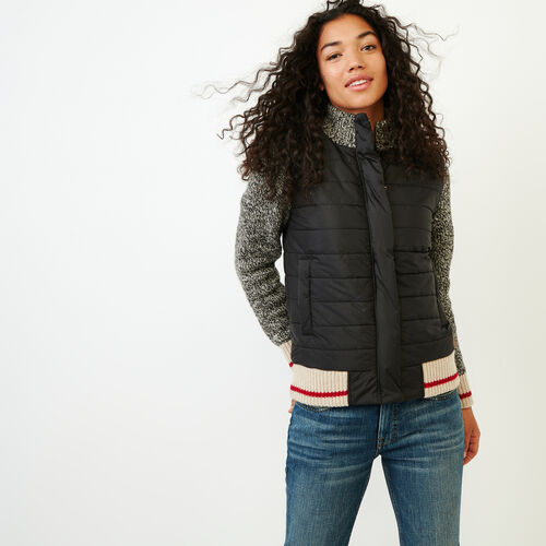 Roots-Women Our Favourite New Arrivals-Roots Cabin Quilted Jacket-Grey Oat Mix-A
