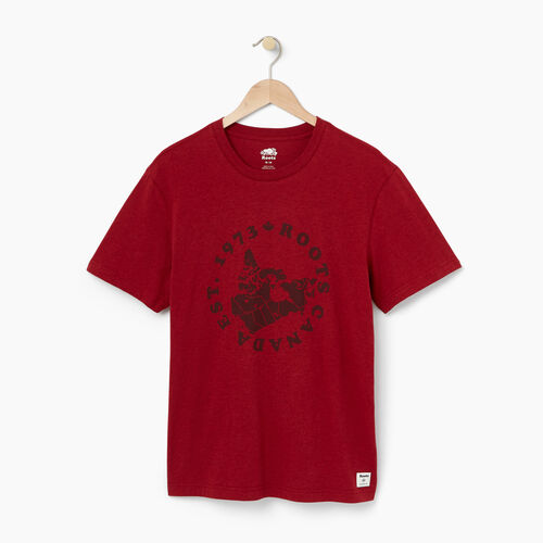 Roots-Winter Sale Men-Mens Province T-shirt-Cabin Red Mix-A