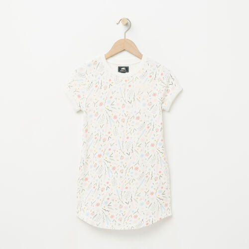 Roots-Kids Dresses-Girls Edith Dress-Pale Blush-A