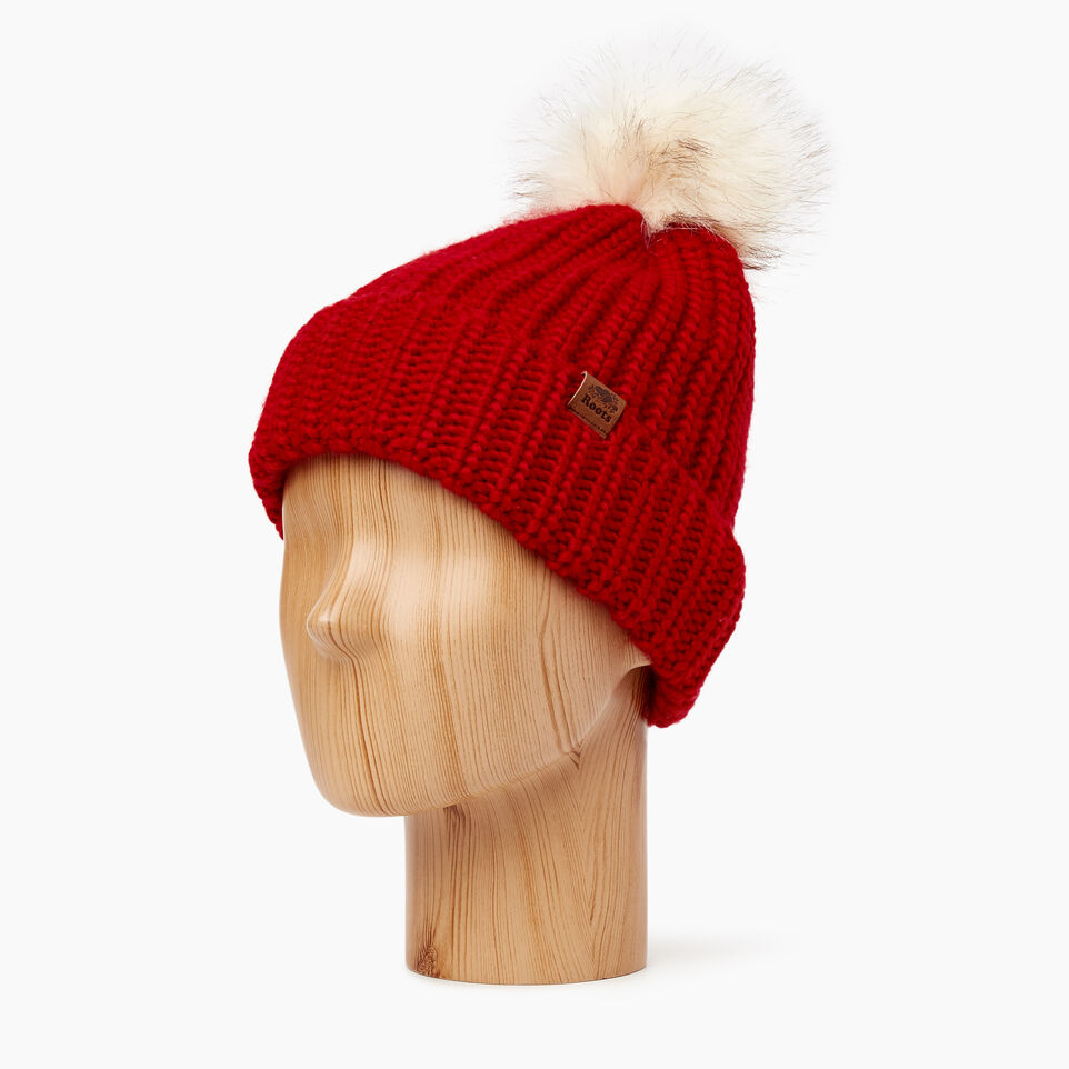Roots-Sale Kids-Kid Girl Olivia Toque-Cabin Red-B