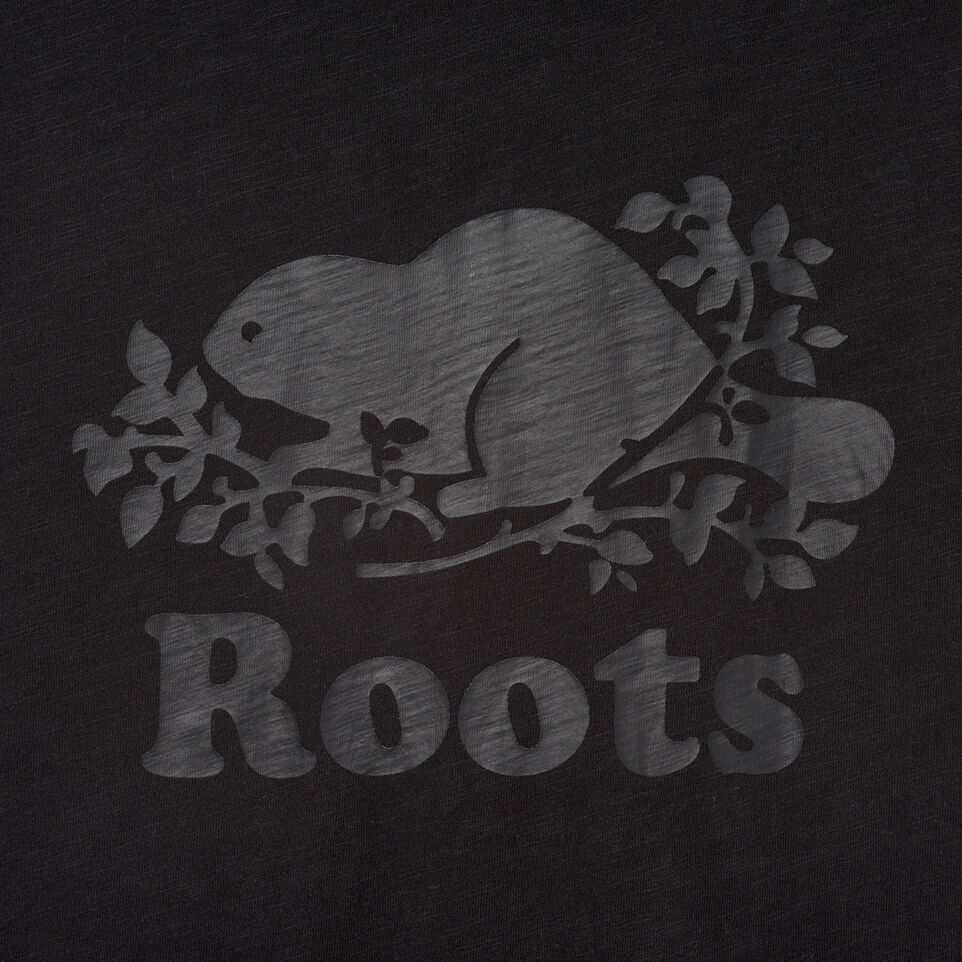 Roots-Women Clothing-Cooper Beaver Muscle Tank-Black-D