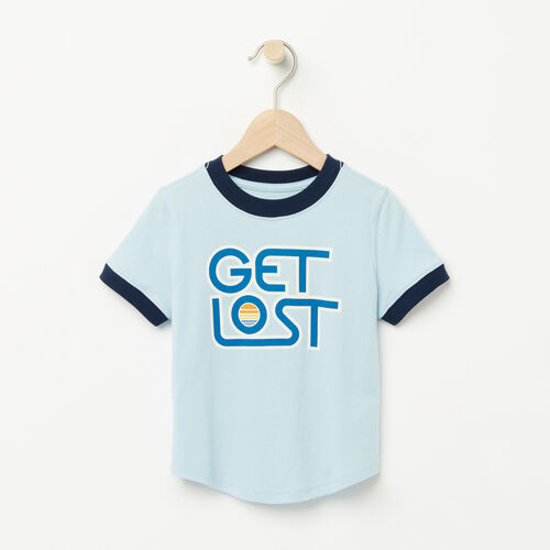 Roots-Sale Kids-Toddler Vintage Ringer T-shirt-Corydalis Blue-A