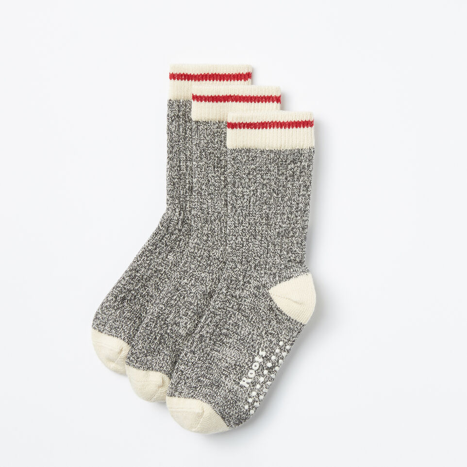 Roots-Kids Our Favourite New Arrivals-Toddler Classic Cabin Sock 3 Pack-Salt & Pepper-A