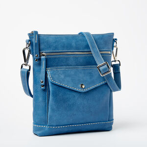 Roots-Women Crossbody-Post Bag Tribe-Infinity-A