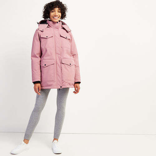Roots-Women Outerwear-Roots Sustainable Parka-Light Hawthorn Rose-A