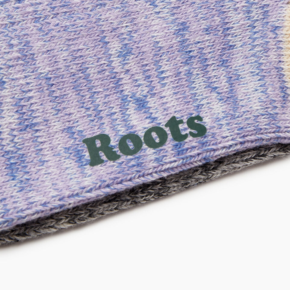 Roots-undefined-Womens Cotton Cabin Sock 2 Pack-undefined-D
