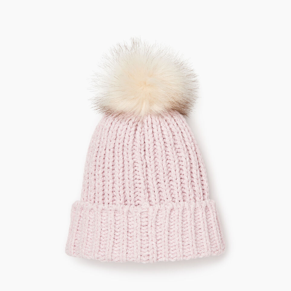 Roots-Kids Our Favourite New Arrivals-Kid Girl Chenille Toque-Fragrant Lilac Ppr-C