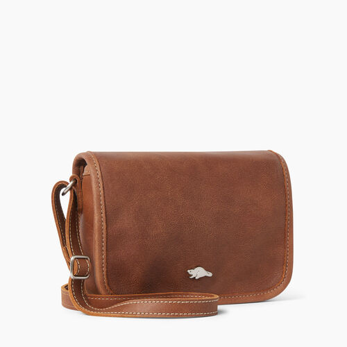 Roots-Women Bags-Angelina Bag Tribe-Natural-A