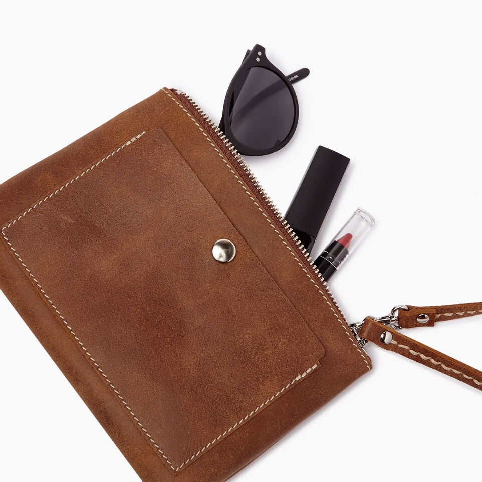 Roots-Leather Our Favourite New Arrivals-Riverdale Pouch-Natural-B