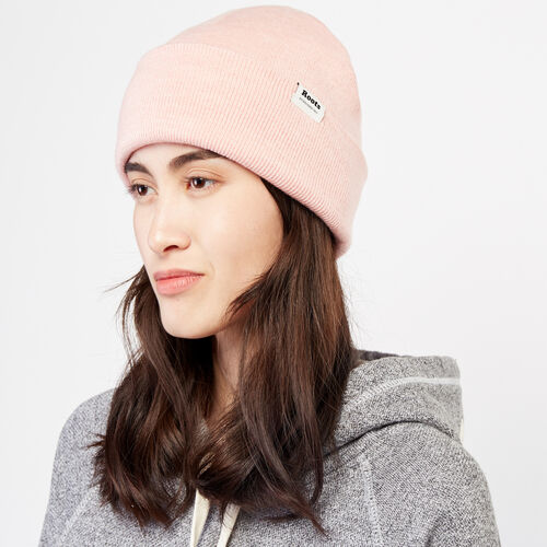 Roots-Men Accessories-Cozy Bracebridge Toque-Dusty Rose Mix-A
