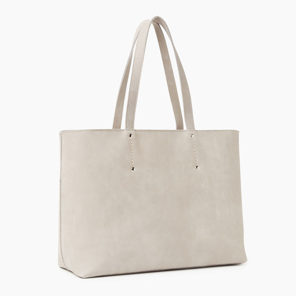 Roots-Leather New Arrivals-Westmount Tote Tribe-Sterling Grey-C