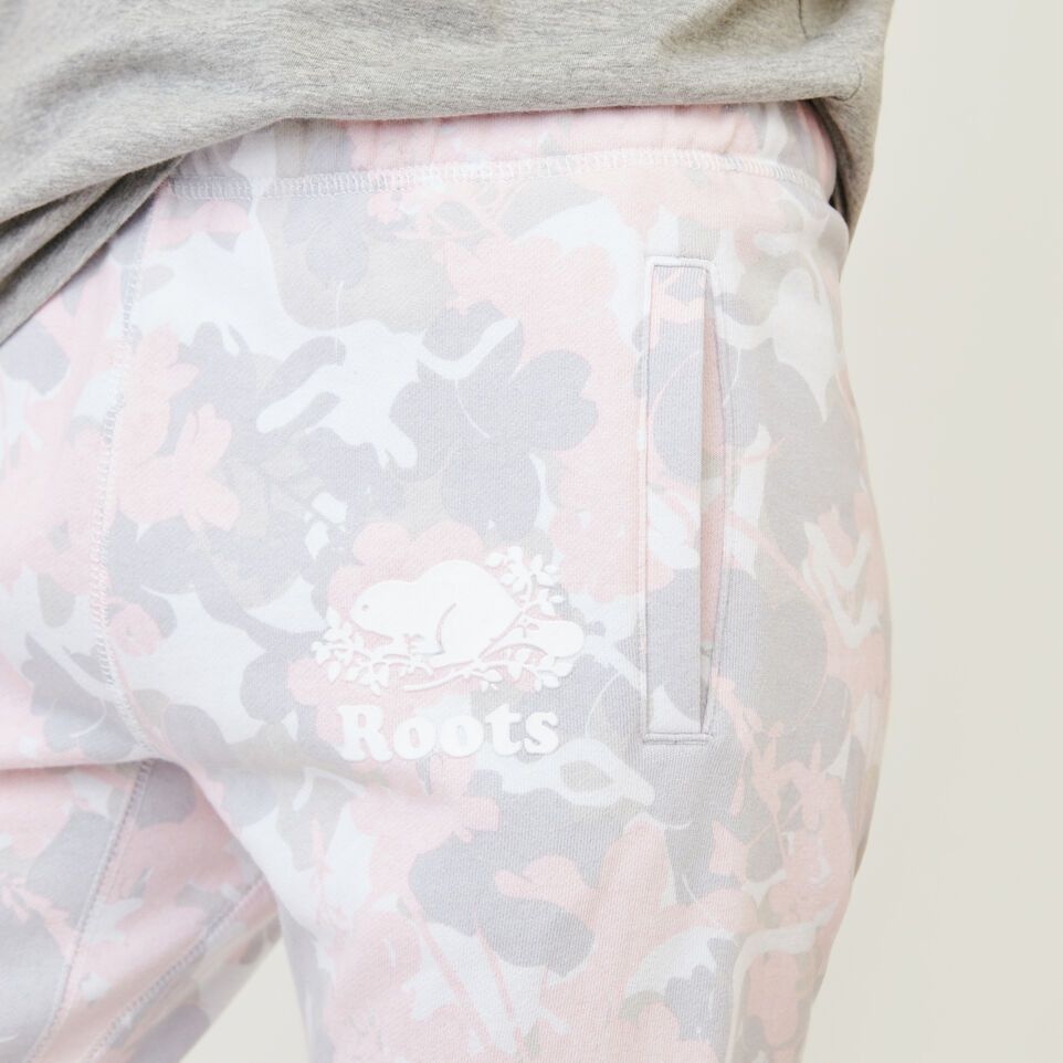 Roots-undefined-Floral Easy Ankle Sweatpant-undefined-E