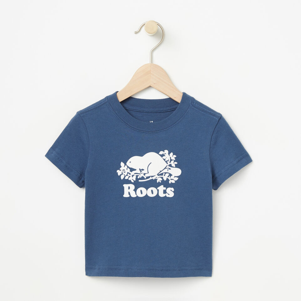 Roots-Baby Cooper Beaver T-shirt