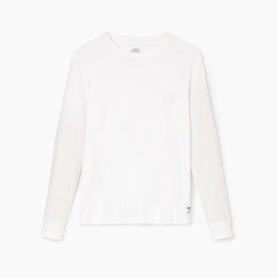 Roots-Women Our Favourite New Arrivals-Womens Cooper Remix Long Sleeve T-shirt-Crisp White-A